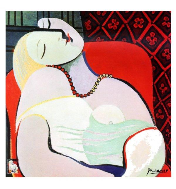 Carré en soie Le Rêve, Marie-Thérèse de Picasso