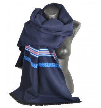 Châle Athna bleu