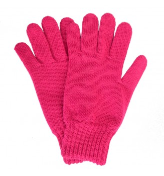 Gants femme roses made in France