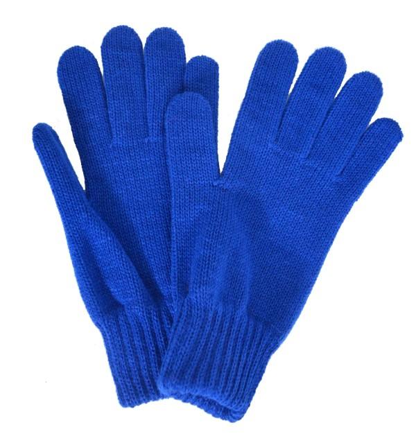 Gants femme bleu-roi made in France