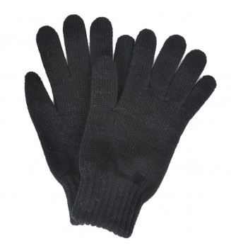 Gants femme noirs made in France