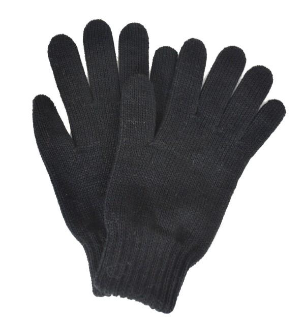 Gants femme noirs made in France