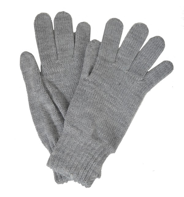 Gants femme gris made in France