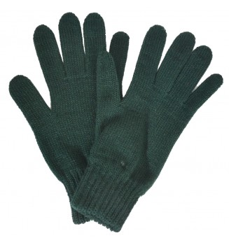 Gants femme verts made in France