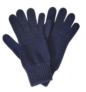 Gants femme bleu marine made in France