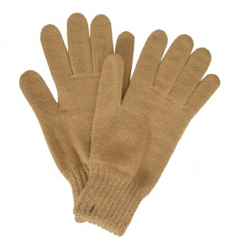 Gants femme beiges made in France