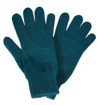 Gants femme bleu canard made in France