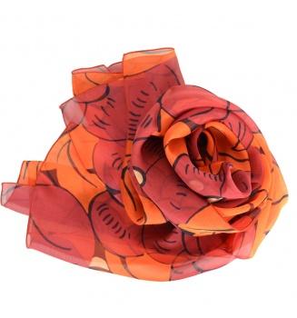 Foulard en soie Grosses Fleurs de Dufy