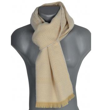 Echarpe laine Tchao beige