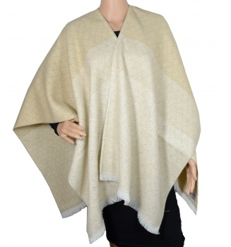 Poncho After beige