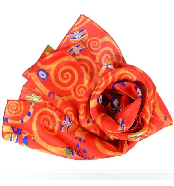 Foulard en soie Arbre de Vie de Klimt