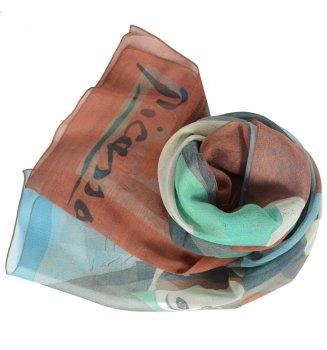 Foulard en soie Blanquita de Picasso