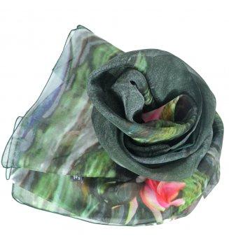 Foulard en soie Jardins de Giverny de Monet