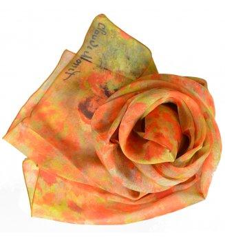 Foulard en soie Coquelicots de Monet